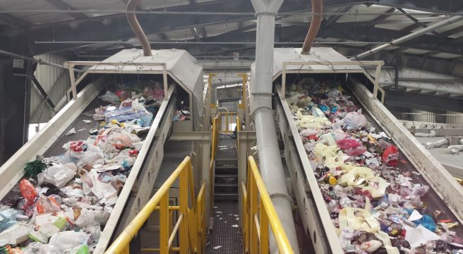 Recyclables Sorting